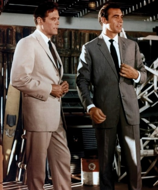 Jack Lord with Sean Connery