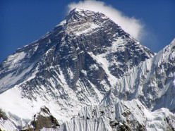"The first man on ""Mount Everest"""
