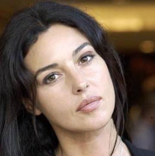Monica Bellucci's Beautiful Face