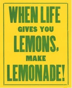When Life Gave Me Lemons