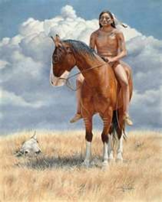 Artist rendering of Crazy Horse