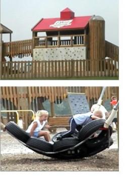 Heritage Hill Playground, Boettler Park, http://www.cityofgreen.org/