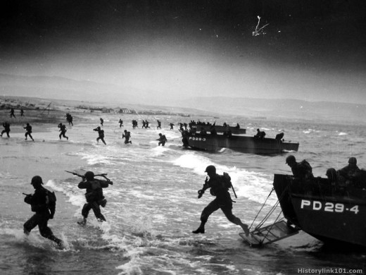 Omaha Beach Inferno! Oversexed! Overpaid? And finally over here!!