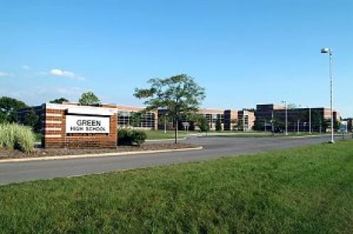 Green High School  http://www.greenlocalschools.org/ghs/site