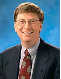 Bill Gates, christened William Henry 'Bill' III born Oct. 28, 1955 is an American business magnate, philanthropist and chairman of Microsoft.