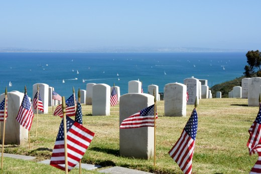 Fort Rosecrans National Cemetery - Memorial Day