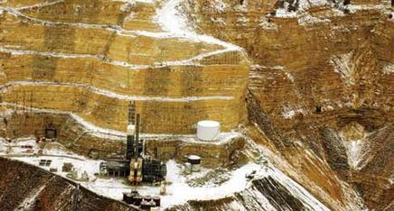 Oil Shale mining