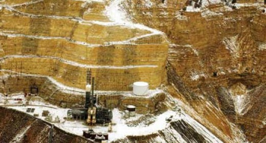 Oil Shale mining