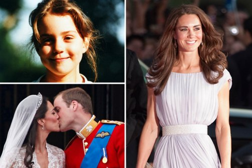 PRINCESS KATE WOULD HAVE MADE A PERFECT SUPER-MODEL.
