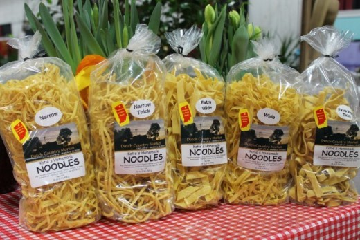 Amish homemade noodles