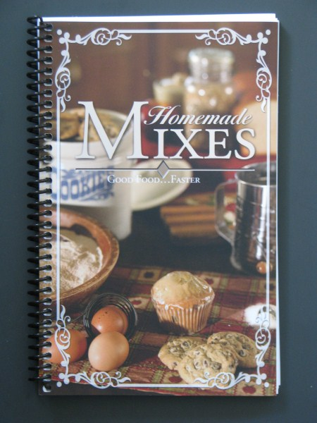 Homemade Mixes Provides recipes to make dry cooking mixes.