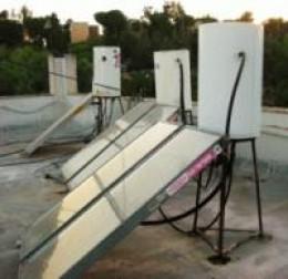 Common individual Solar Boiler-Dood Shemesh