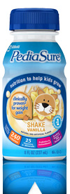 Pediasure, 240 calories for 8 oz