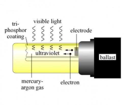 How CFL bulbs create light