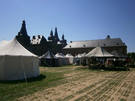 The main encampment