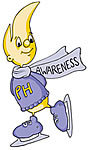 PH Awareness Flame Ice Skater