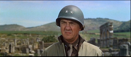 Karl Malden as General Bradley