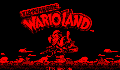 The Virtual Boy's Warioland: incidentally, a really good game.