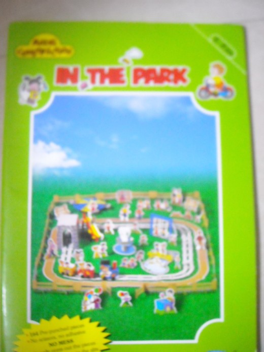 "Navneet Publication's series of model construction ""In the park"""
