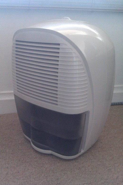 Our trusty dehumidifier
