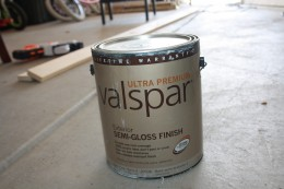 $10 for a gallon of semi-gloss paint!
