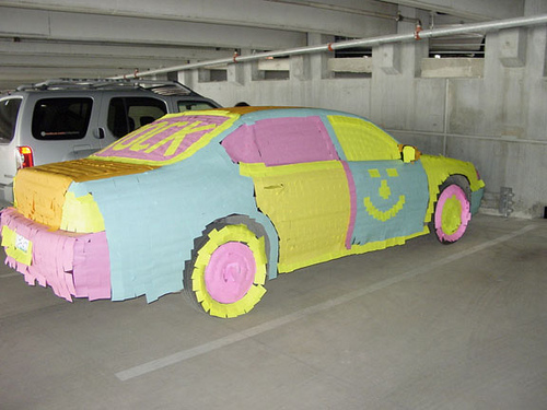 Post-it Car