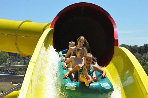 Deep river outdoor water park, Indiana
