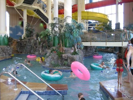 Carribean cove water park, IN