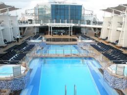 Pool Deck Solstice Class Ships