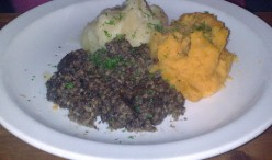 How to cook authentic Haggis with Tatties and Neeps