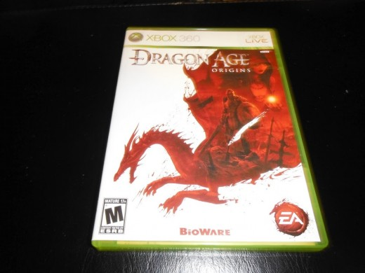 My copy of Dragon Age: Origins