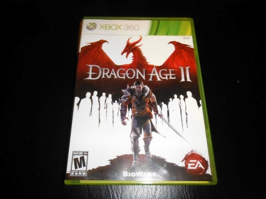 My copy of Dragon Age 2.