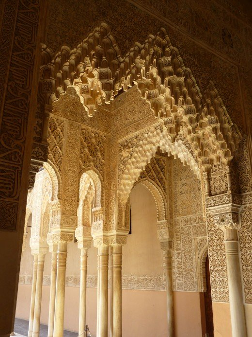 In settings like the Alhambra in Granada, Spain, there is always more to explore.