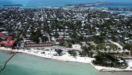 Key West From The Air.