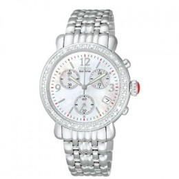 Ladies | Calibre 5000 | Diamonds | Mother-of-Pearl | Cabochon Crown