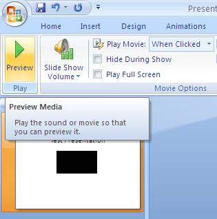 Preview your video file to make sure it looks good and plays appropriately.