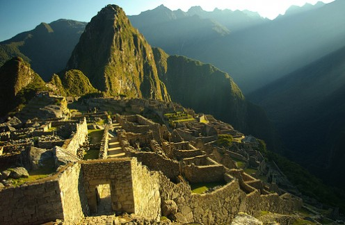 Machu Picchu at Dawn Photo: Jessie Reeder via flickr