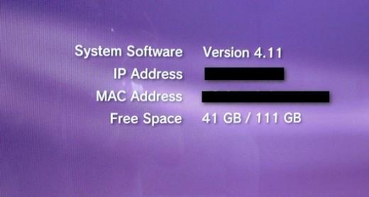 Under System Information menu