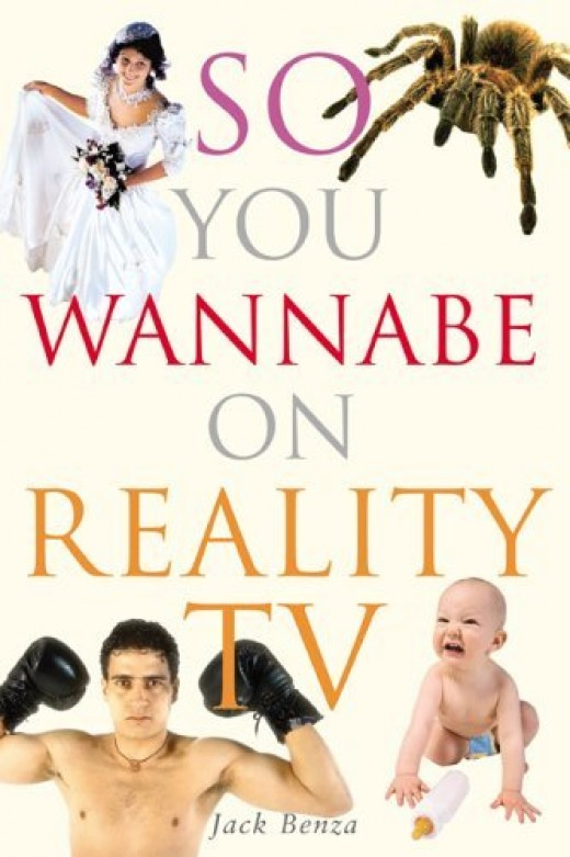 """This guy, Jack Benza actually wrote a BOOK on becoming a contestant on these shows, I guess it's a real """"eye opener"""" of a book, too! It is based on his TRUE experiences of being on several reality TV shows."""