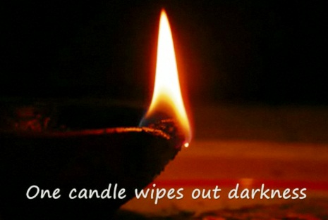 wiping out darkness