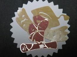Owl 3 adhered to ribbon layer
