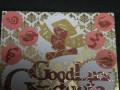 small ribbon layered adhered