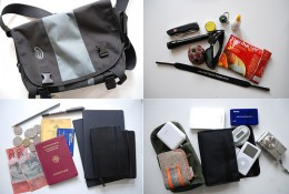 So what's inside my travel bag?
