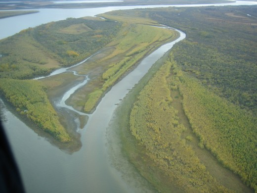 The Kuskokwim River Delta