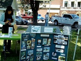This is the Pacific Wildlife Care Exhibit at 2012 Paso Robles Festival of the Arts