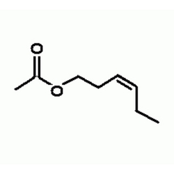 CIS-3 hexenyl acetate molecule.