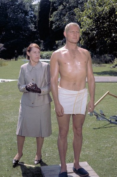 Lotte Lenya with Robert Shaw