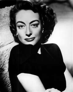 "Joan Crawford -- queen of ""the shoulder"" look."