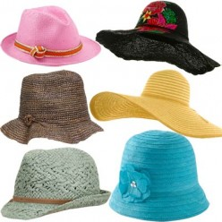 Wearing Sun Hats For Cancer Protection Especially In The Desert