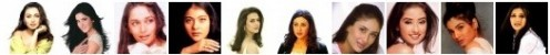 Bollywood Actresses who have acted opposite all the 3 Big Khans of the Hindi Film Industry